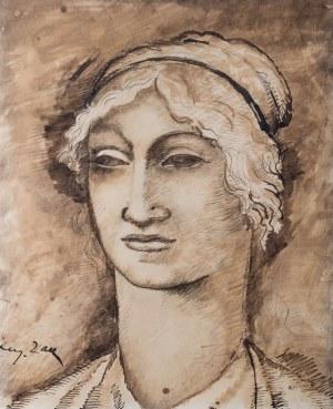 Eugeniusz Zak (1884 Mogilno – 1926 Paryż), Głowa kobiety, ok. 1912