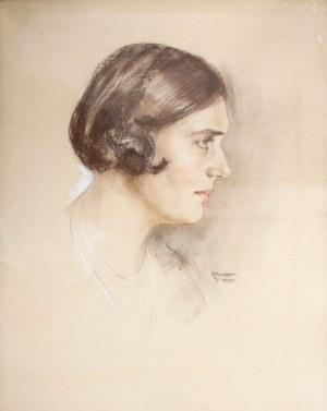 Erich Stumpf prawdopodobnie (1877 Gdańsk-1943 tamże), Portret kobiety