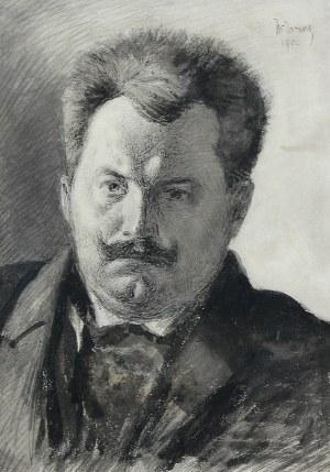 Wilhelm Mitarski (1879 Lackie Małe k. Złoczowa-1923 Kraków), Portret Jana Kasprowicza, 1902