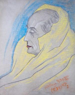 Stanisław Ignacy Witkiewicz (1885 Warszawa - 1939 Jeziory na Polesiu), Portret Edmunda Strążyskiego, 1930