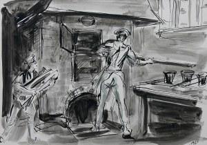 Antoni Uniechowski (1903 Wilno-1976 Warszawa), Piekarze