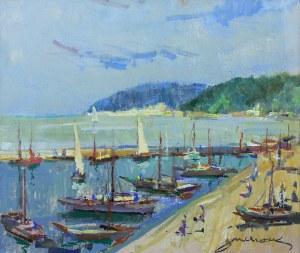 Antoni Suchanek (1901 Rzeszów - 1982 Gdynia), Port jachtowy w Gdyni