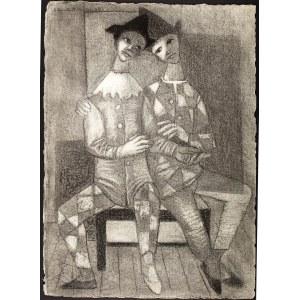 Jean Lambert-Rucki (1888 Kraków - 1967), Pierroci, 1934