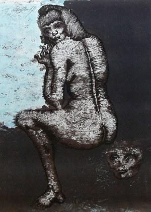 Jan Lebenstein (1930 Brześć Litewski - 1999 Kraków), Suzanne, 1973