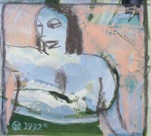Tomasz Kazikowski (ur.1952), Portret kobiety, 1992