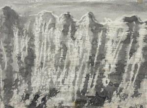 """Adam Smolana (1921 Lwów-1987 Sopot), Z cyklu """"Góry"""", 1964"""