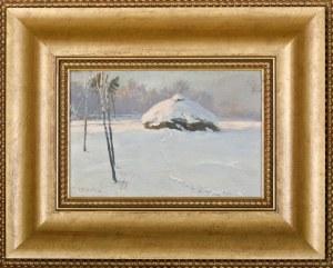 Zygmunt JÓZEFCZYK (1881-1966), Zimowy pejzaż (1932)