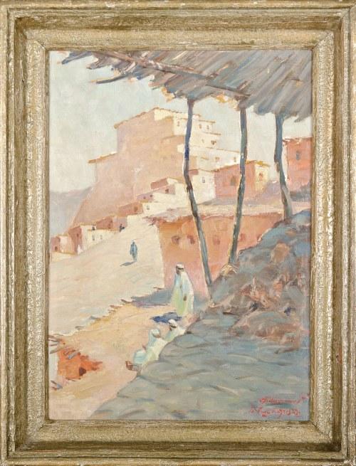 Aleksander LASZENKO (1883-1944), Arabskie miasto (1929)