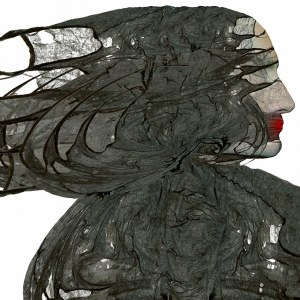 Zdzisław BEKSIŃSKI, Bez tytułu, 100 x 100 cm