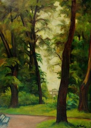 Wojciech Weiss (1875-1950), Park, ok. 1930