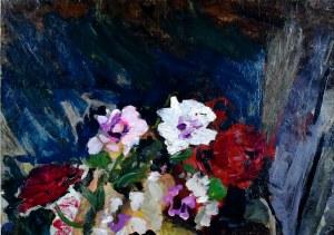 Stanisław Kamocki (1875-1944), Martwa natura z kwiatami, ok. 1900