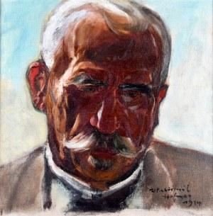 Wlastimil Hofman (1881-1970), Portret mężczyzny, 1914