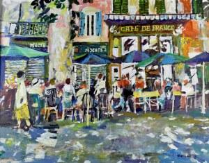 Juliusz Joniak (Ur. 1925), Cafe de France III, 1918