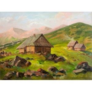 Leszek Stańko (1924-2011), Chaty w górach, 2008