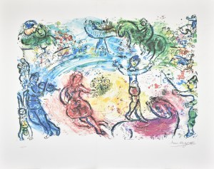 Marc Chagall (1887 - 1985) - Według, Bez tytułu 2098