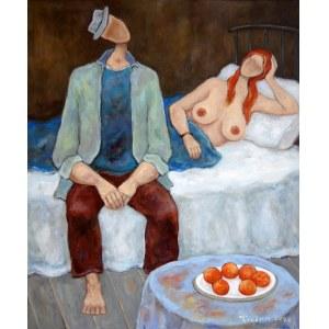 Henryk Trojan, Hiszpańskie pomarańcze II, 2020