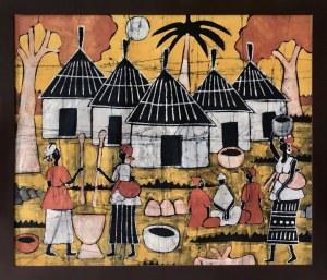 Sainey, Afrykańska wioska