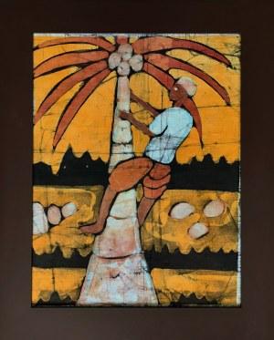 Faring Sanyag, Mężczyzna wspinający się na palmę kokosową