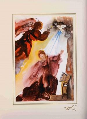 Salvador Dali, Annuntiatio z teki z teki