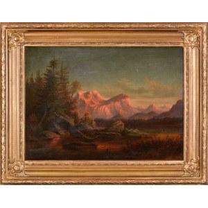 Aleksander Świeszewski (1839-1895), Góry, 1891