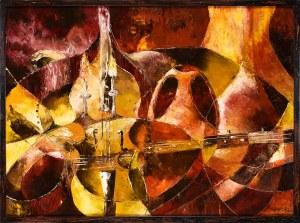 Mieczysław Olszewski (Ur.1945), Red composition, 1972