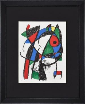Joan Miro (1893-1983), Kompozycja, 1972