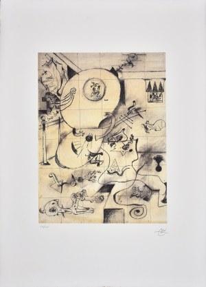 Joan Miro (1893-1983), Kompozycja