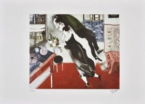Marc Chagall (1887-1985), Couple d'amourex