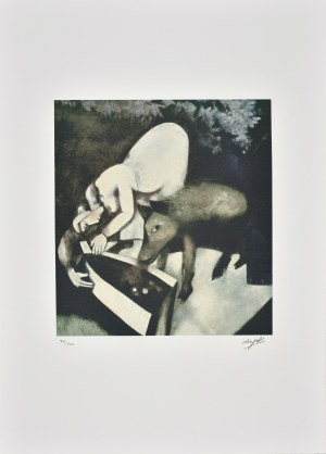 Marc Chagall (1887-1985), An Revoir la Nuit
