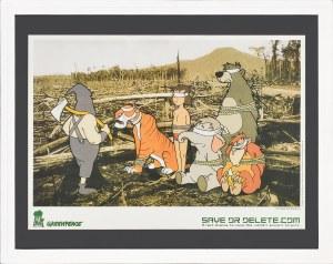 Banksy (Ur.1974), Greenpeace, 2010