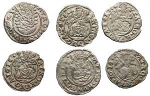Węgry, Zestaw denarów 1612-1618