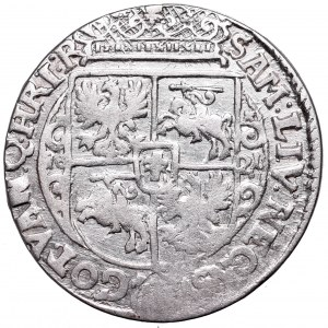 Sigismund III, 18 groschen 1621, Bromberg - PRV M