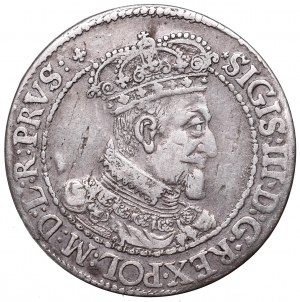 Sigismund III, 18 groschen 1617, Danzig - PRVS :+