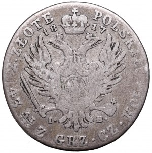 Kingdom of Poland, 2 zloty 1817