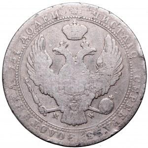 Zabór rosyjski, 3/4 rubla=5 złotych 1839, Warszawa