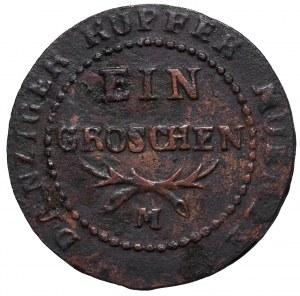 Free city of Danzig, 1 groschen 1809