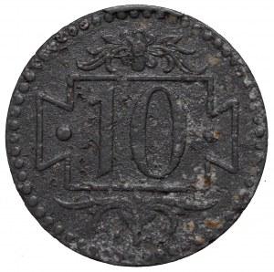 Wolne Miasto Gdańsk, 10 fenigów 1920 - 59 perełek rzadkośc