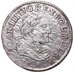 John III Sobieski, 6 groschen 1684, Bromberg