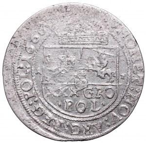 Jan II Kazimierz, Tymf 1666, Kraków