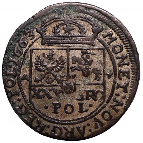 Jan II Kazimierz, Tymf 1663, Kraków