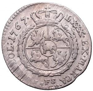 Stanislaus Augustus, 4 groschen 1767 FS
