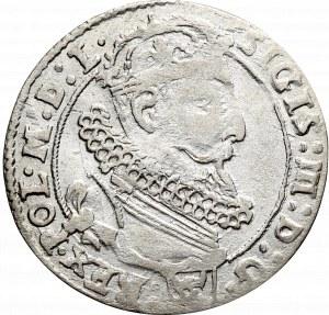 Zygmunt III Waza, Szóstak 1625, Kraków - Półkozic, ciekawa Pogoń