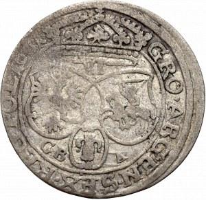 Jan II Kazimierz, Szóstak 1661, Lwów