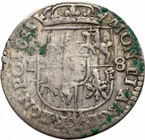 John II Casimir, 18 groschen 1651, Fraustadt