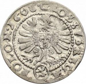 Zygmunt III Waza, Grosz 1606, Kraków - nieopisany krzyż pod popiersiem POLO