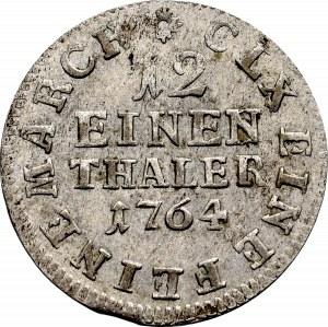 Saksonia, Fryderyk August, 1/12 talara 1764