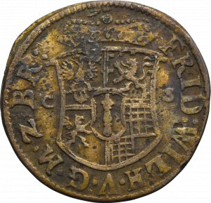 Niemcy, Brandenburgia-Prusy, Fryderyk Wilhelm, 1/12 talara 1679