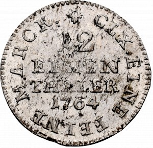 Niemcy, Saksonia, Fryderyk August III, 1/12 talara 1764