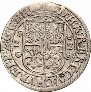 Prusy Książęce, Jerzy Wilhelm, Ort 1622, Królewiec - półpostać w zbroi
