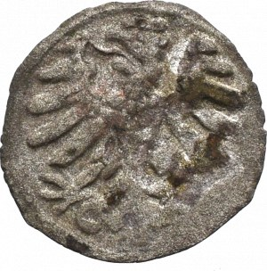 Sigismund I the Old, Denarius without date, Cracow - S-P
